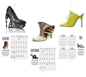 Shoegasm Calendar Interior