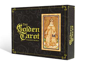 Golden Tarot - The Book Shop