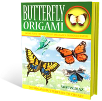 Butterfly Origami - The Book Shop