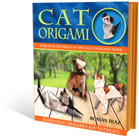 Cat Origami - The Book Shop