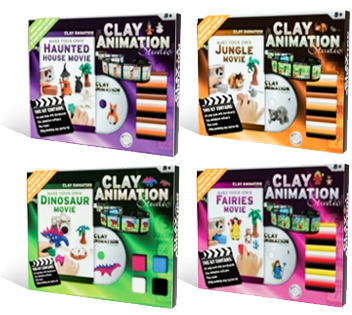 Clay Animation - The Book Shop