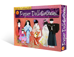 Paper Doll Origami - The Book Shop