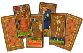 The Golden Tarot Cards