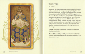 The Golden Tarot - Spread 1