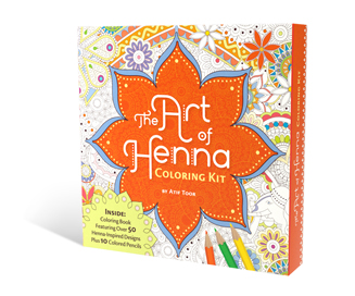 The Art of Henna Coloring - The Book Shop