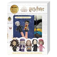 Harry Potter crochet finger puppets