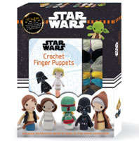 Start Wars Crochet Finger Puppets